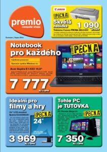 Premio noviny červenec - srpen 2014