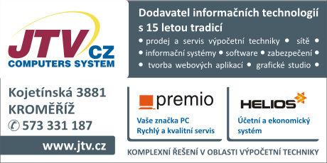 JTV CZ s.r.o. - dodavatel informačních technologí