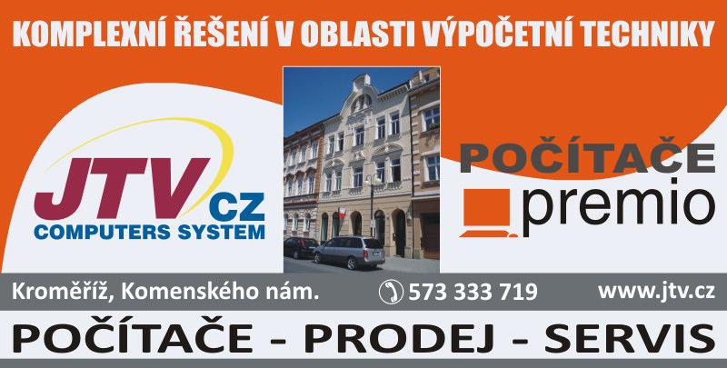 Servis počítačů Kroměříž - Premio prodejna - Komenského náměstí
