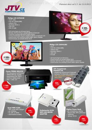 Akční nabídka JTV CZ - červenec